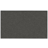 Lavex Janitorial 2' x 3' Slate Washable Nylon Rubber-Backed Indoor Entrance Mat