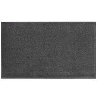 Lavex Janitorial 3' x 6' Gray Olefin Indoor Entrance Mat
