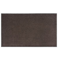 Lavex Janitorial 3' x 10' Brown Olefin Indoor Entrance Mat