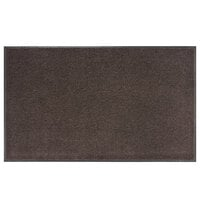 Lavex Janitorial 4' x 6' Brown Olefin Indoor Entrance Mat