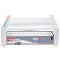 APW Wyott HRSDi-31 208/240 X*PERT Digital Hotrod 30 Hot Dog Roller Grill 19 1/2 inch Slanted Top - 208/240V