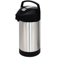 Fetco D041 3 Liter Stainless Steel Lined Airpot with Lever