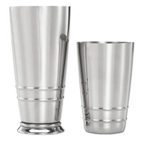 Barfly M37125 2-Piece Heavy-Duty Weighted Stainless Steel Cocktail Shaker Tin Set with 18 oz. and 28 oz. Cocktail Shaker Tins