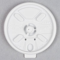 Dart 10FTL 10 White Lift'n'Lock Lid - 100/Pack