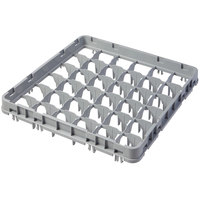 Cambro 36E1151 Soft Gray 36 Compartment Full Size Full Drop Camrack Extender - 19 5/8 inch x 19 5/8 inch x 2 inch