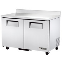 True TWT-48F-ADA-HC Two Door ADA Compliant Worktop Freezer - 12 cu. ft.