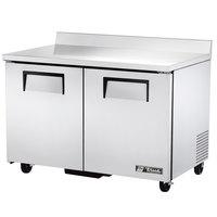 True TWT-48F-ADA-HC Two Door ADA Compliant Worktop Freezer
