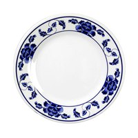 Thunder Group 1006TB Lotus 6 inch Round Melamine Plate - 12/Pack