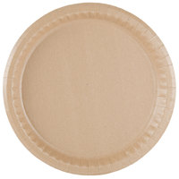 Solut 20020 10 1/4 inch Coated Kraft Paper Plate - 400/Case