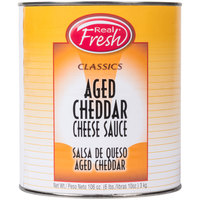 Real Fresh Aged Cheddar Nacho Cheese Sauce #10 Can   - 6/Case