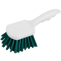 Carlisle 4054109 Sparta Spectrum 8 inch Green General Clean Up / Pot Scrub Brush