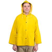 Yellow 2 Piece Rain Jacket - Small
