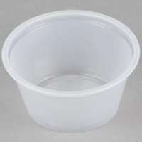 Choice 2 oz. Plastic Souffle Cup / Portion Cup   - 2500/Case