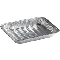 Choice Half Size Foil Steam Table Pan Shallow Depth - 20/Pack