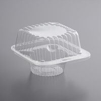 Choice 1-Compartment Clear OPS Plastic Cupcake / Muffin Container
