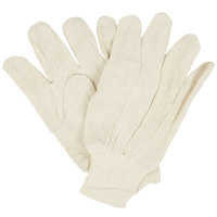 Standard Poly / Cotton Blend Canvas Gloves - Large - 12/Pack