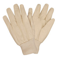 Standard Poly / Cotton Blend Canvas Gloves - Large - 12 Pairs / Pack