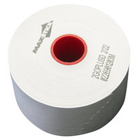 2 1/4 inch x 375' Diamond Adhesive Sticky Media Linerless Receipt Paper / Label Roll - 32/Case