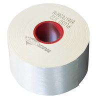 2 1/4 inch x 210' Diamond Adhesive Sticky Media Linerless Receipt Paper / Label Roll - 32/Case