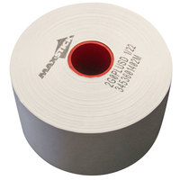 3 1/8 inch x 375' Diamond Adhesive Sticky Media Linerless Receipt Paper / Label Roll - 30/Case
