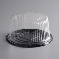 Baker's Mark 10 inch High Dome Cake Display Container with Clear Dome Lid