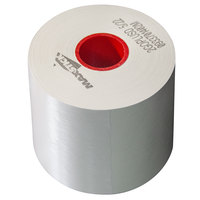 3 1/8 inch x 240' Diamond Adhesive Sticky Media Linerless Receipt Paper / Label Roll - 32/Case