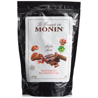 Monin 3 lb. Natural Mocha Frappe Base Mix