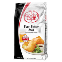 Golden Dipt 5 lb. Complete Beer Batter Mix   - 6/Case