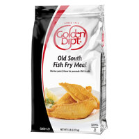 Golden Dipt 5 lb. Old South Fish Fry Meal Mix - 6/Case