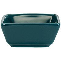 International Tableware EL-4-BB Elite Harvest 2.5 oz. Square Blueberry Porcelain Ramekin - 36/Case