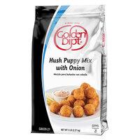 Golden Dipt 5 lb. Hush Puppy Mix with Onion - 6/Case