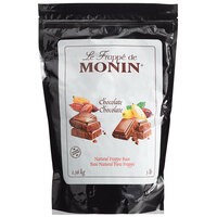 Monin 3 lb. Natural Chocolate Frappe Base Mix