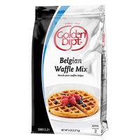 Golden Dipt 5 lb. Belgian Waffle Base Mix - 6/Case