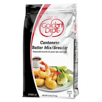 Golden Dipt 5 lb. Cantonese Batter / Breader Mix   - 6/Case