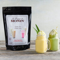 Monin 3 lb. Natural Neutral Cream Frappe Base Mix