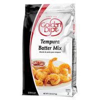 Golden Dipt 5 lb. Tempura Batter with Rice Flour   - 6/Case