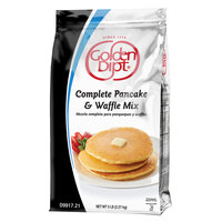 Golden Dipt 5 lb. Complete Pancake and Waffle Mix - 6/Case