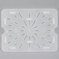 Cambro 20PPD190 1/2 Size Translucent Polypropylene Drain Tray
