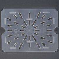 Cambro 20PPD 1/2 Size Translucent Polypropylene Drain Tray