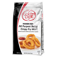 Golden Dipt Modern Maid 5 lb. All-Purpose Crispy Fry Batter Mix - 6/Case