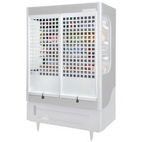 Beverage-Air 183629008ASM Security Cage and Lock Assembly for VM7 Merchandisers