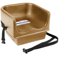 Cambro 100BCS157 Beige Single Seat Booster Chair with Strap