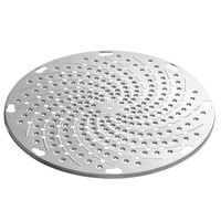 Avantco MX20GRATR Stainless Steel Grater Plate for MX20 Series Slicer and Shredder Attachments