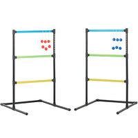 Triumph 35-7015-2 Ladder Toss Game with 2 Sets of 3 Soft Bolas