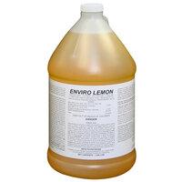 Enviro Lemon 1 Gallon Concentrated Detergent / Disinfectant   - 4/Case