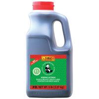 Lee Kum Kee Panda Brand Green Label 5 lb. Gluten-Free Oyster Flavored Sauce - 6/Case