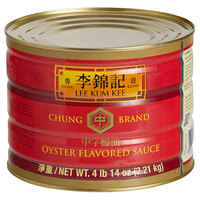 Lee Kum Kee Chung Brand 4 lb. 14 oz. Oyster Flavored Sauce - 6/Case