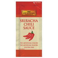 Lee Kum Kee 8 mL Sriracha Chili Sauce Packet - 500/Case