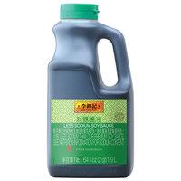 Lee Kum Kee 1/2 Gallon Less Sodium Soy Sauce - 6/Case