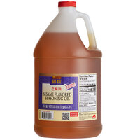 Lee Kum Kee Kum Chun 1 Gallon Sesame Flavored Seasoning Oil - 4/Case